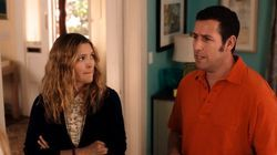 Drew Barrymore and Adam Sandler play divorced parents in Blended, to be released in May.