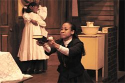 Regina Washington leads a spirited ensemble in Jubilee Theatre&#039;s  Joe Turner&#039;s Come and Gone. 