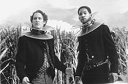 Heads up, or off: Kevin Kline and Will Smith gallop into mediocrity as Artemus Gordon and Jim West.