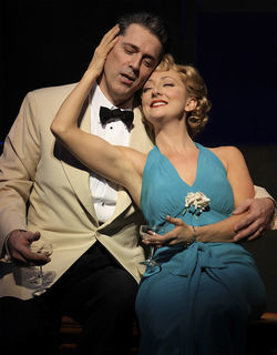 As Emile and Nellie, Jason Howard and Carmen Cusack bring tropical heat (and great singing) to the Winspear in South Pacific.