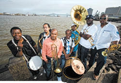 The Rebirth Brass Band, rising above
