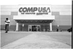 Mexican financier Slim controls Dallas-based CompUSA, whose stores include this one on Central Expressway.