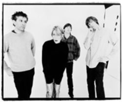 Contrary to photographic evidence, Sonic Youth now includes five members. Tip your bottles for freelancing hired gun Jim O'Rourke.